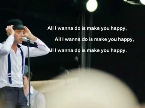 , title : 'Mika - Make you happy Lyrics (on screen + description)'