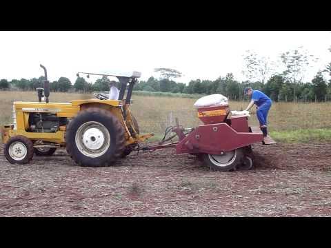 Cbt 2105 + Imasa MP 1600 plantando trigo - Nova Ramada - RS pt01