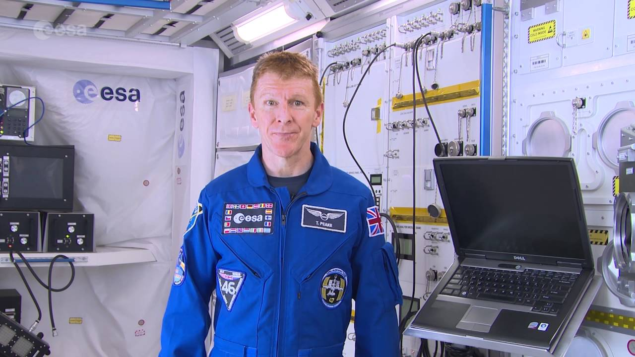 Tim Peake for Asteroid Day