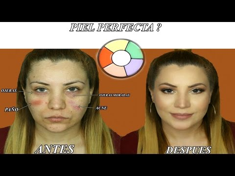 Como Cubrir Manchas Oscuras,acne, Paño,ojeras Con Maquillaje | | How To Cover Dark Spots With Makeup