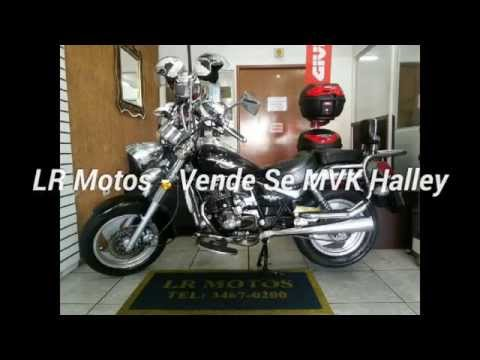 LR Motos - Vende Se MVK Halley 200cc