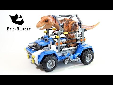 """Конструктор Lego Jurassic World 75918 """"Погоня за Тираннозавром"""""""