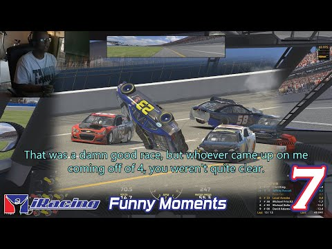 Funny clips - iRacing Funny Moments 7 -