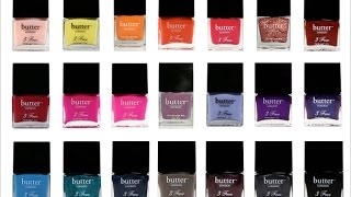 Butter London Polishes Mentioned: Stag Do Scuppered Two Fingered Salute Rebel Fox Brass Monkey Leccy Bluecoat Brown Sugar Victoriana No More Waity Katie A Ta...