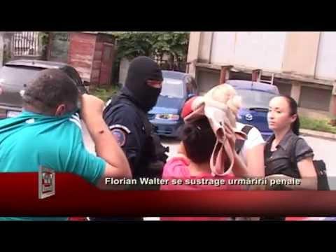 Florian Walter se sustrage urmaririi penale