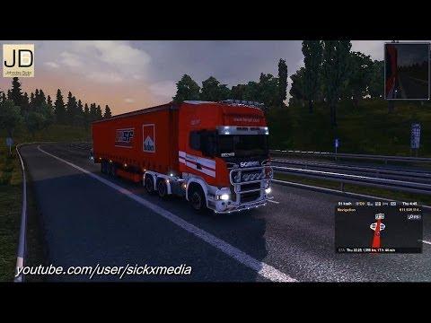 Scania Streamline Ferrari Skin