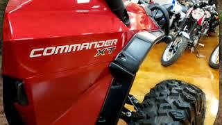 10. 2018 Can-Am Commander XT 1000R Intense Red