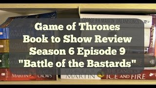 "Now that was an amazing battle! Game of Thrones was amazing last night. Let's talk about episode 9 ""Battle of the Bastards"" Did ..."