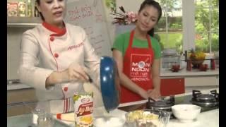 Món Ngon Mỗi Ngày - Nui trộn cá hồi nướng mayonnaise