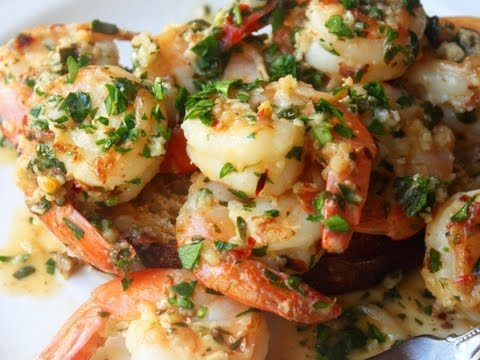 """""""Oh my God!"""" Quick and Easy Garlic Shrimp"""