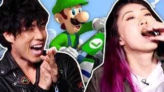 MARIO KART DRINKING GAME w/ THE TRY GUYS | Mario Kart 8 Deluxe by Smosh Games