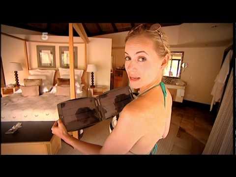 Pollyanna Woodward in a bikini