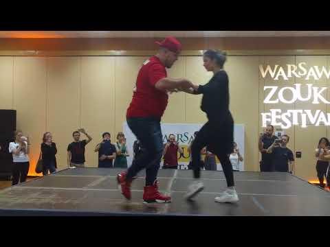 WZF2018: Linda & Pedrinho - Footwork & breaks Demo ~ video by Zouk Soul