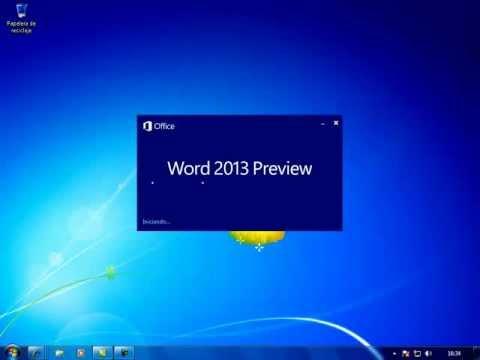 Word 2013. Tutorial de Microsoft Office -Abrir Word 2013-
