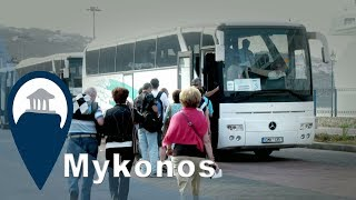Mykonos | Getting From Port to Chora by bus