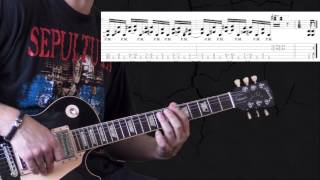 Pantera - Mouth For War - Metal Guitar Lesson (with TABS)