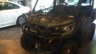 8. 2018 Can-Am Defender hd8 dps Front rack addition