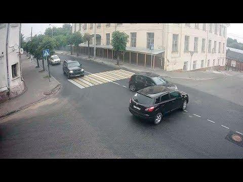 ДТП в Серпухове на улице Волгоградского