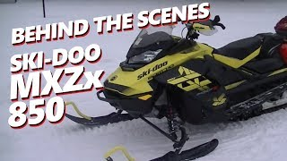 1. BEHIND THE SCENES: 2018 Ski-Doo MXZ X 850 Spring Order Specifications REVIEW