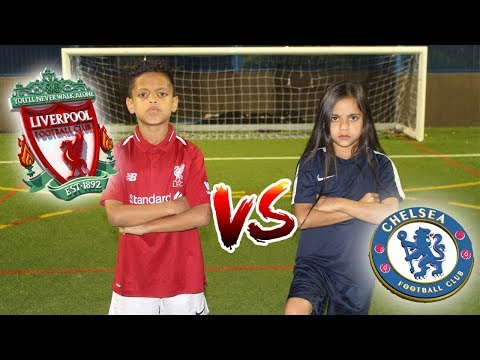 LIVERPOOL VS CHELSEA!! PENALTY SHOOTOUT CHALLENGE!!