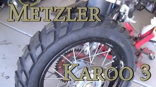 6. Metzler Karoo 3 Tire Review - KTM 990 ADV