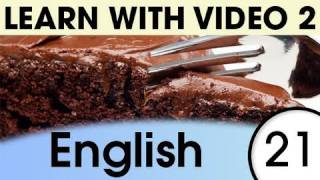 English Recipes for Fluency, Learn English with Video
