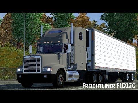 Freightliner FLD 120 + Interior