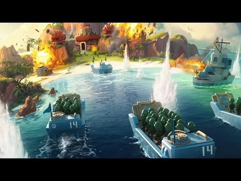 Beach - Boom Beach's great amphibious battles are worth dealing with its tedious resource requirements.