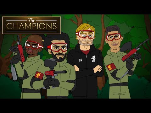 Liverpool And Manchester City Go Paintballing | The Champions S1E5