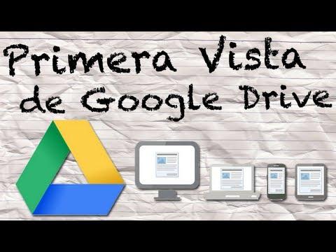 Video 2 de Google Drive: Primeros pasos de Google Drive