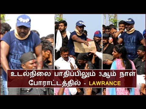 Lawrance Distributing Food With All His Body Pain | BioScope