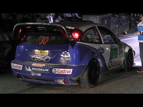 Rally Legend 2017: Friday Night Action - Starts, Anti-Lag, Flames & Sounds!