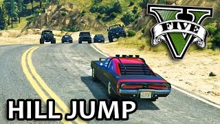 Nonton GTA V - Fast and Furious 7 Hill Jump Scene Film Subtitle Indonesia Streaming Movie Download