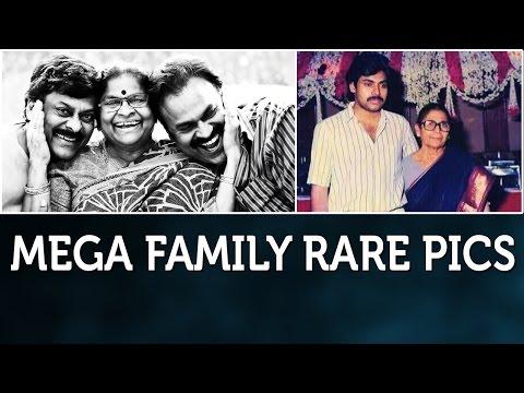 Mega Family Rare Unseen Photos | Chiranjeevi | Pawan Kalyan | Allu Arjun | Mega Heroes