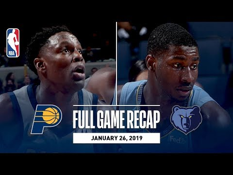 Video: Full Game Recap: Pacers vs Grizzlies | Conley Leads MEM