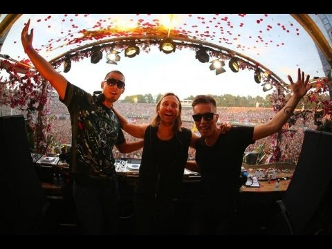 Nicky Romero vs David Guetta vs Afrojack – Live at Tomorrowland 2013