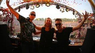 David Guetta, Afrojack, Nicky Romero - Live @ Tomorrowland 2013