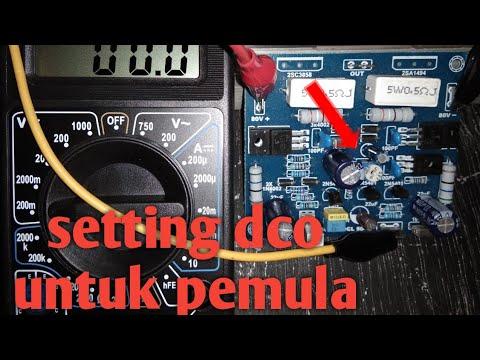 Cara setting DCO socl 504 bagi pemula