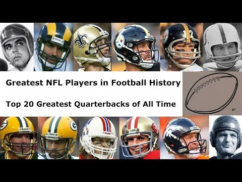 Top 20 Greatest Quarterbacks of All Time : Tom Brady? Greatest NFL Players in Football History Ep 3