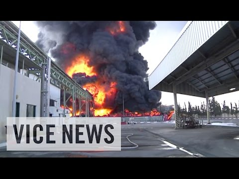 Footage - Subscribe to VICE News here: http://bit.ly/Subscribe-to-VICE-News Footage shows the aftermath of Israeli airstrikes that hit Gaza on Tuesday. Among other targets, strikes hit the home of Ismail...