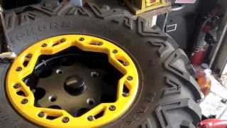 8. How to install Tires on Beadlock Rims