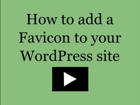 How to Add a Favicon to Your WordPress Site