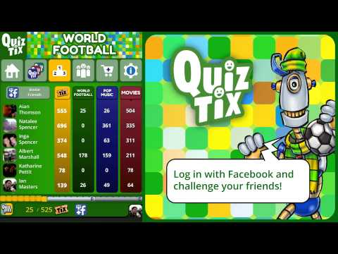 Video of QuizTix: World Football Quiz