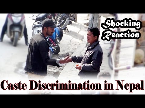 (Caste Discrimination in Nepal (Shocking Reaction) // Social expe... 5 min, 56 sec.)