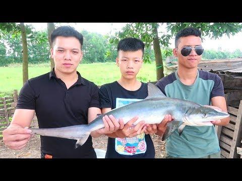 Hữu Bộ | Cá Mập Nướng Siêu Cay | Grilled Shark - Thời lượng: 17:19.