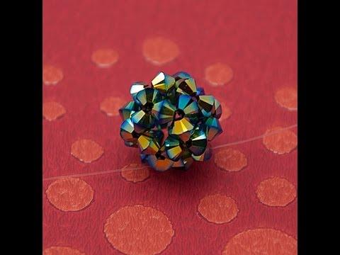come creare una pallina con i cristalli swarovski