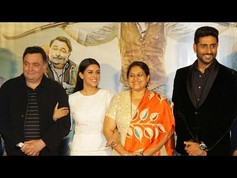 Abhishek Bachchan, Asin And Rishi Kapoor At The Tr
