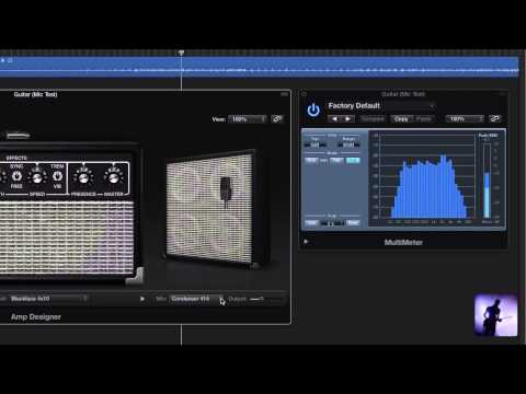 Logic Pro X Tutorial – What's New in Amp Designer