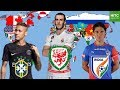 Download Lagu Best Footballer From EVERY Country on Earth Mp3 Free