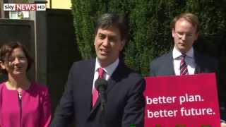 Ed Miliband On His Russell Brand Interview